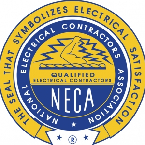 Seal of the National Electrical Contractors Association (NECA)