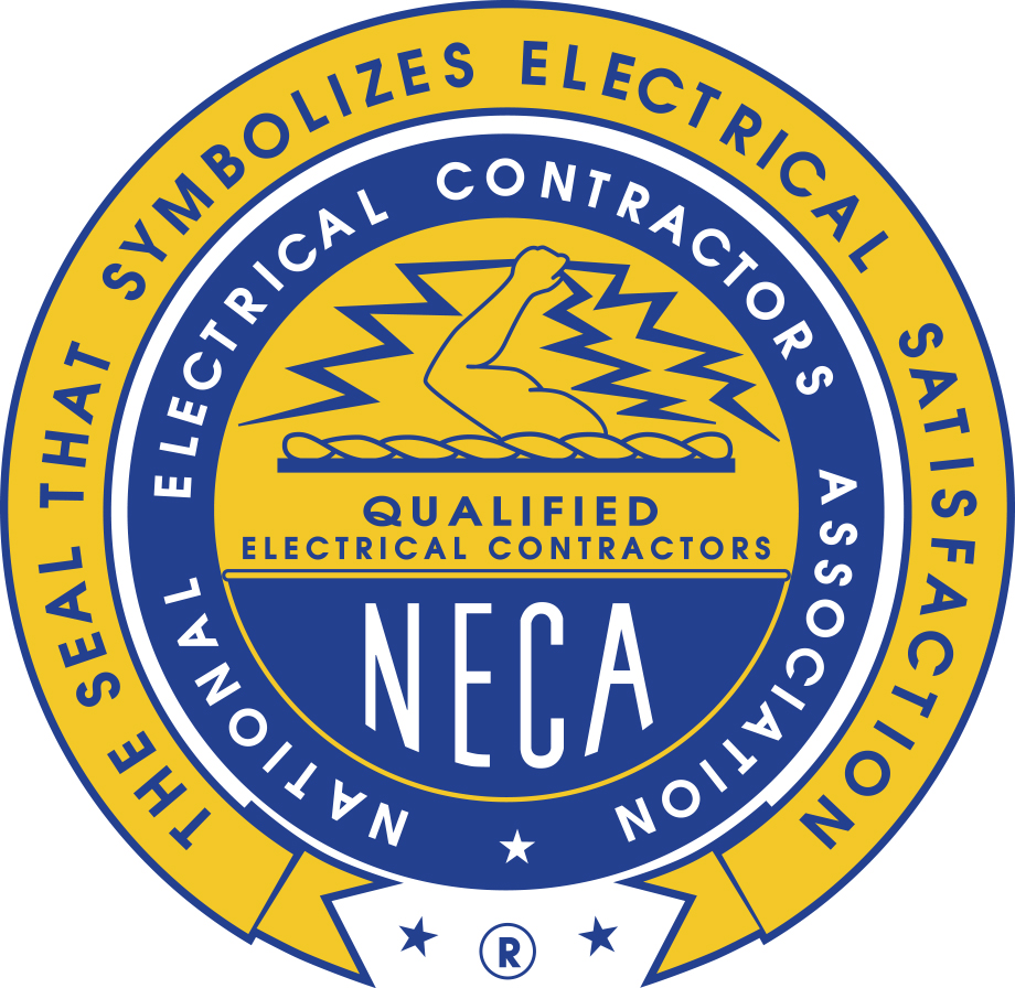 National Electrical Contractors Association (NECA) logo. Visit their website where you can learn more about this sponsor.