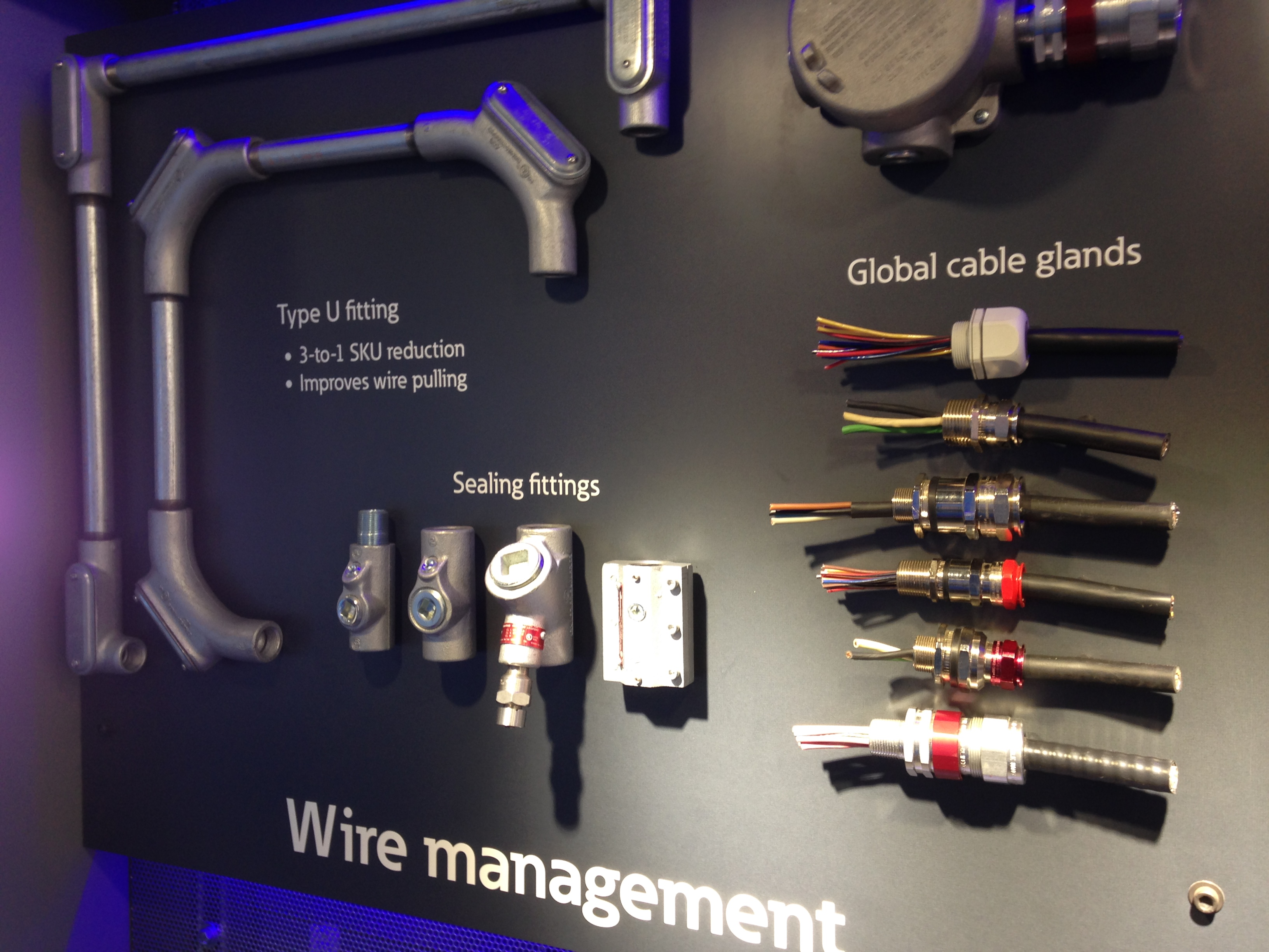 Wire management training materials